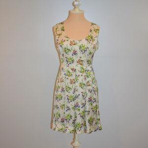 BB Dakota Nydia Sleeveless Floral Dress